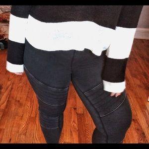 Mossimo moto leggings